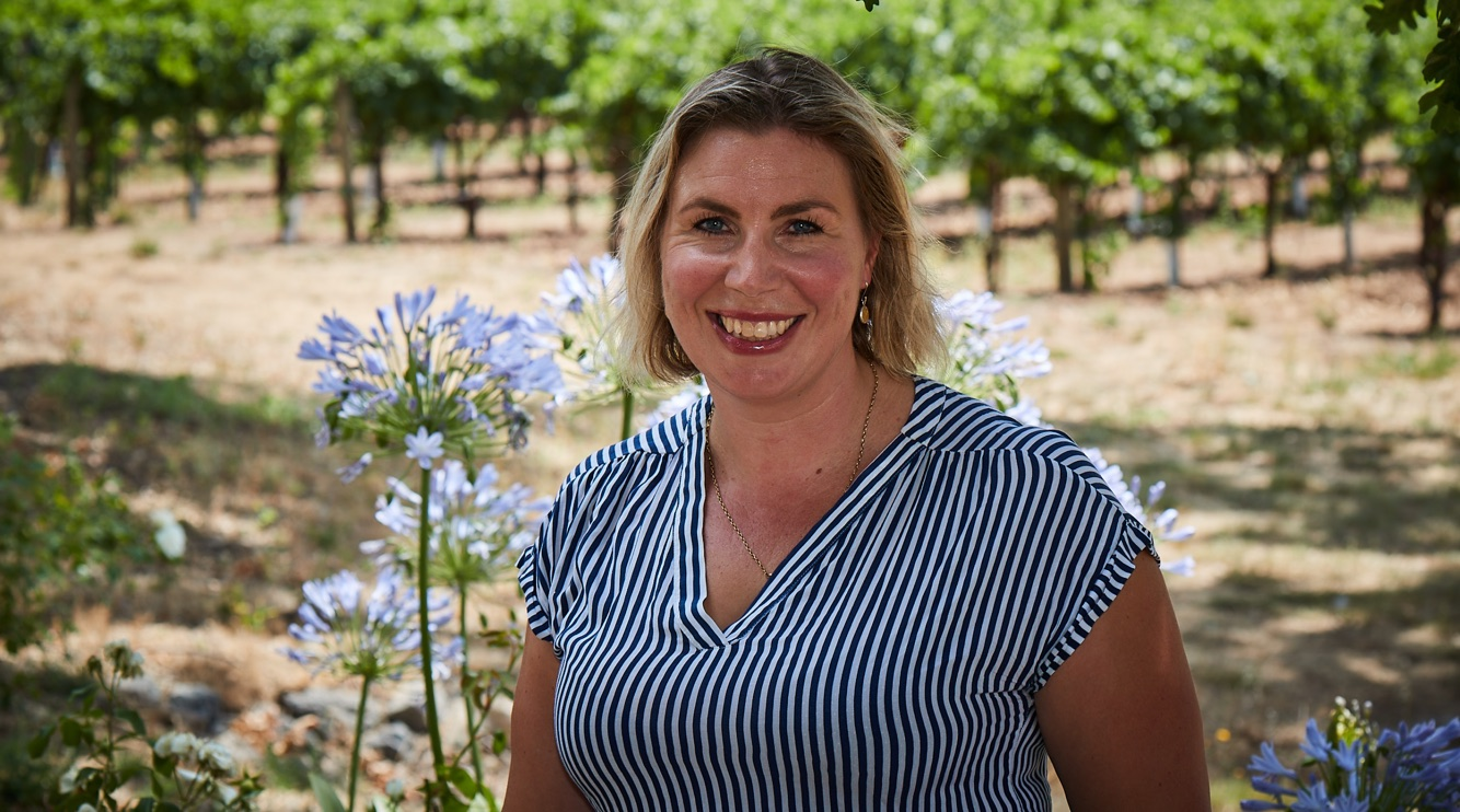 Cecelia Buckenham Baines, Kenwood Vineyards Viticulture Manager